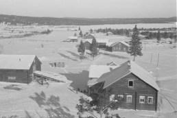 Деревня Вокнаволок, зима 1942 г.