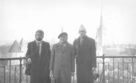 Г.Гордеев, В.Вершинин и Е.Чашкин в Таллинне