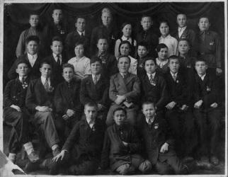 Красноуфимское педучилище 1937 год