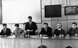 Президиум на конференции (съезде) МОО «Марий ушем» 1998 г.