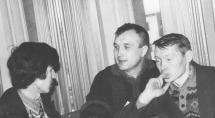 """""""Марий ушем"""", слева направо: В.Козлов, В.Танаков, Е.Чашкин"""