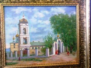 Подарок Эшпаю - картина А.Г. Лебедева