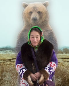 Лариса и медведь