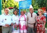 Встреча земляков и арвуя Д.Я. Ямаева