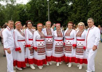 Ансамбль Шум куан на московской земле-