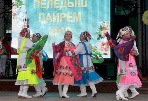 Звениговский ансамбль Шум куан - танец с платками