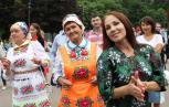 Совместный танец на Пеледыш пайреме-2019 в Москве