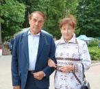 Первый и единственный президент-мари Республики Марий Эл Владислав Зотин (слева)