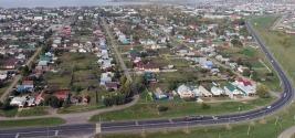 Русское село, райцентр Алексеевское. Татарстан