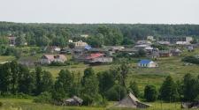 Типичное русское село в Нижегородской области