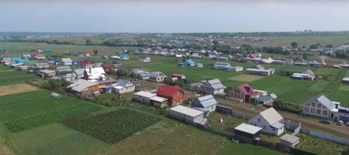 Татарское село Урмаево в Чувашии