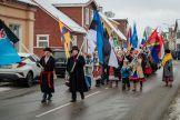 Торжественное шествие. Фото: Taavi Bergmann, Lõuna-Eesti Postimees