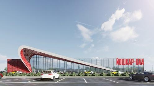 Проект нового здания аэропорта Йошкар-Олы