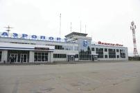 Здание аэропорта Йошкар-Олы сегодня